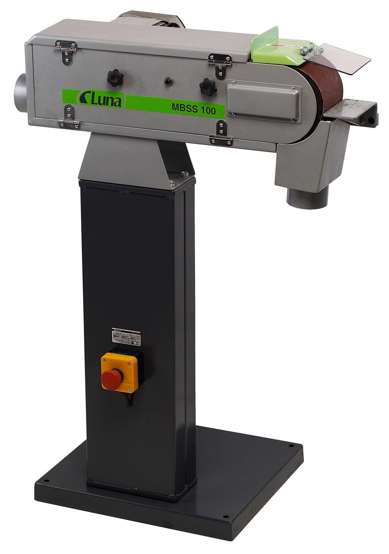 Bandslipmaskin för metall Luna MBSS100
